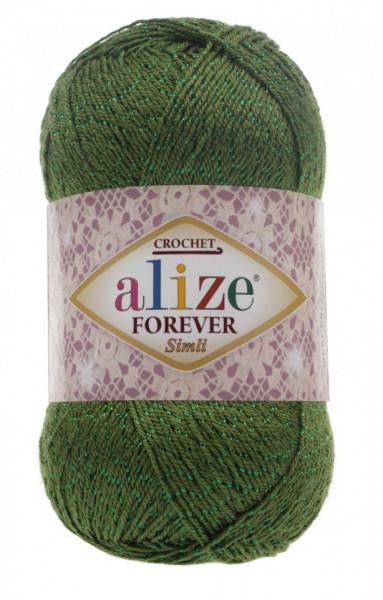 Poze Fir de tricotat sau crosetat - Fir microfibra ALIZE FOREVER SIMLI VERDE 35