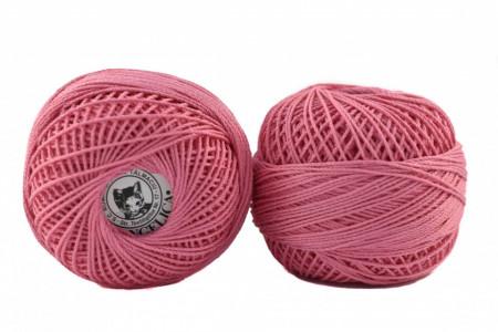 Poze Fir de tricotat sau crosetat - Fire Bumbac 100% ANGELICA ROMANOFIR BOBINA ROZ 1210
