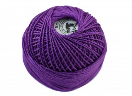 Poze Fir de tricotat sau crosetat - Fire Bumbac 100% ANGELICA ROMANOFIR BOBINA MOV 1226