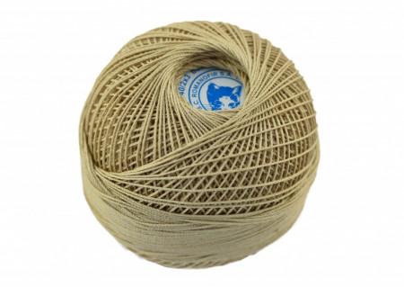 Poze Fir de tricotat sau crosetat - Fire Bumbac 100% MACRAME ROMANOFIR BOBINA BEJ 6