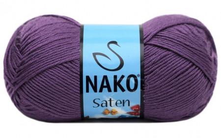 Poze Fir de tricotat sau crosetat - Fire Nako SATEN MOV 187