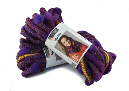 Poze Fir de tricotat sau crosetat - Fire pretricotat esarfa COATS - IGUANA- DEGRADE 81