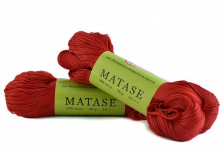 Poze Fir de tricotat sau crosetat - Fire tip matase din vascoza Canguro - ROSU -309 -