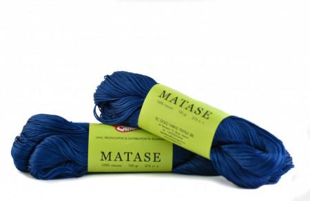 Poze Fir de tricotat sau crosetat - Fire tip matase din vascoza Canguro - ALBASTRU-335 -