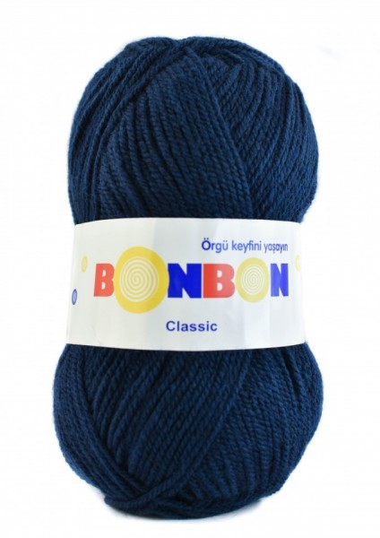 Poze Fir de tricotat sau crosetat - Fire tip mohair din acril BONBON CLASIC BLEOMAREN 98207