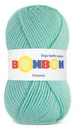 Poze Fir de tricotat sau crosetat - Fire tip mohair din acril BONBON CLASIC VERNIL 98203
