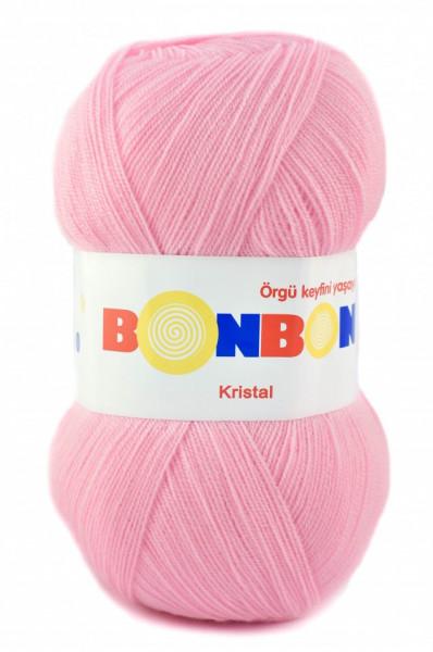 Poze Fir de tricotat sau crosetat - Fire tip mohair din acril BONBON KRISTAL 98588