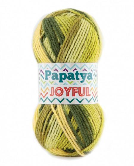 Poze Fir de tricotat sau crosetat - Fire tip mohair din acril Kamgarn Papatya Joyful degrade 05