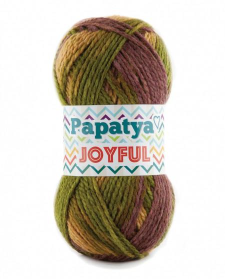 Poze Fir de tricotat sau crosetat - Fire tip mohair din acril Kamgarn Papatya Joyful degrade 32