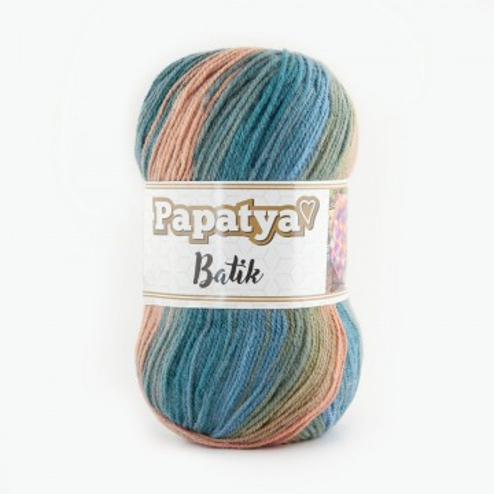 Poze Fir de tricotat sau crosetat - Fire tip mohair din acril Kamgarn Papatya Batik degrade 38