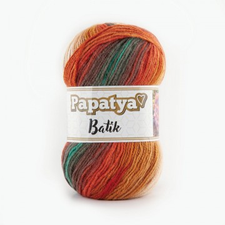Poze Fir de tricotat sau crosetat - Fire tip mohair din acril Kamgarn Papatya Batik degrade 33