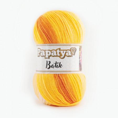 Poze Fir de tricotat sau crosetat - Fire tip mohair din acril Kamgarn Papatya Batik degrade 09
