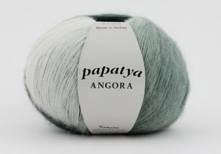 Poze Fir de tricotat sau crosetat - Fire tip mohair din acril Kamgarn Papatya Angora degrade 24