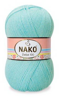 Poze Fir de tricotat sau crosetat - Fire tip mohair din acril Nako Baby Bebe 100 VERNIL 4710
