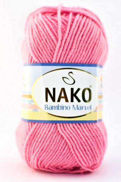 Poze Fir de tricotat sau crosetat - Fire tip mohair din acril Nako Baby MARVEL ROZ 6837