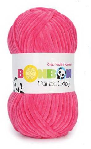 Poze Fir de tricotat sau crosetat - Fire tip mohair din acril NAKO BONBON PANDA BABY ROZ 3100