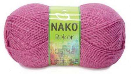 Poze Fir de tricotat sau crosetat - Fire tip mohair din acril premium Nako REKOR ROZ 180