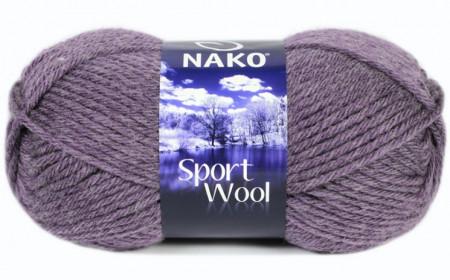 Poze Fir de tricotat sau crosetat - Fire tip mohair din acril si lana Nako Sport Wool GRI 23331