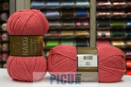 Poze Fir de tricotat sau crosetat - Fire tip mohair din lana 50% si acril 50% Nako Superlambs Special ROZ 10313