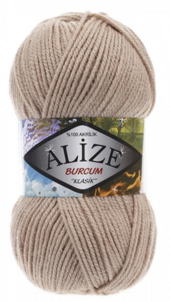 Poze Fir de tricotat sau crosetat - Fir ACRILIC ALIZE BURCUM KLASIK BEJ 256