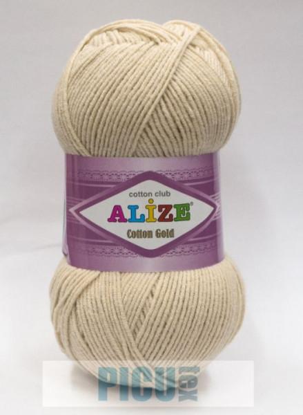 Poze Fir de tricotat sau crosetat - Fir ALIZE COTTON GOLD CREAM 67