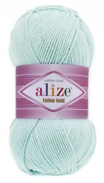 Poze Fir de tricotat sau crosetat - Fir ALIZE COTTON GOLD Vernil 514