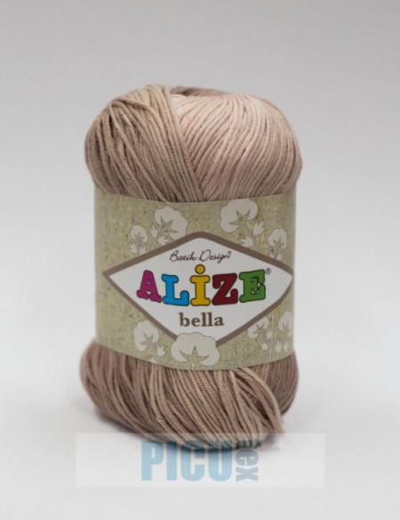 Poze Fir de tricotat sau crosetat - Fir BUMBAC 100% ALIZE BELLA BATIK 1815