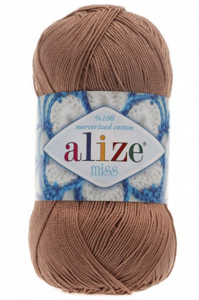 Poze Fir de tricotat sau crosetat - Fir BUMBAC 100% ALIZE MISS BEJ 494