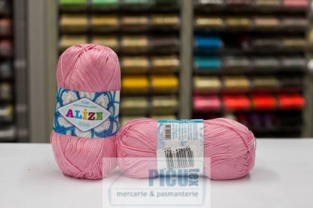 Poze Fir de tricotat sau crosetat - Fir BUMBAC 100% ALIZE MISS ROZ 170
