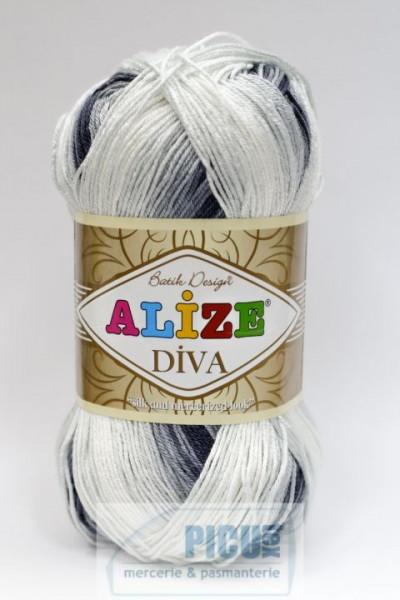 Poze Fir de tricotat sau crosetat - Fir microfibra ALIZE DIVA BATIK DEGRADE 1900