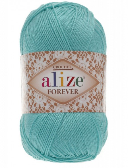 Poze Fir de tricotat sau crosetat - Fir microfibra ALIZE FOREVER BLEO 376