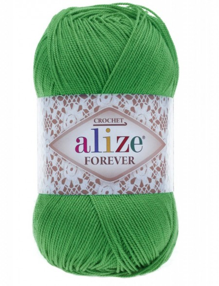 Poze Fir de tricotat sau crosetat - Fir microfibra ALIZE FOREVER VERDE 328