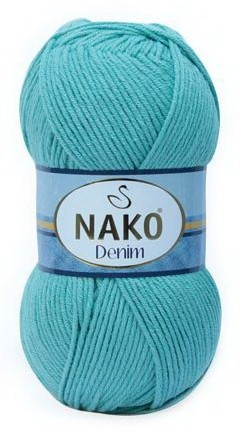 Poze Fir de tricotat sau crosetat - FIR NAKO DENIM AZUR 11579