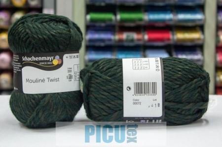 Poze Fir de tricotat sau crosetat - Fir SCHACHENMAYR Mouline Twist VERDE 00072
