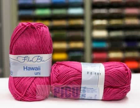 Poze Fir de tricotat sau crosetat - Fire amestec Bumbac 100% GRUNDL HAWAII UNI - ROZ - 06
