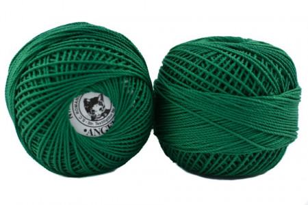 Poze Fir de tricotat sau crosetat - Fire Bumbac 100% ANGELICA ROMANOFIR BOBINA VERDE 1252