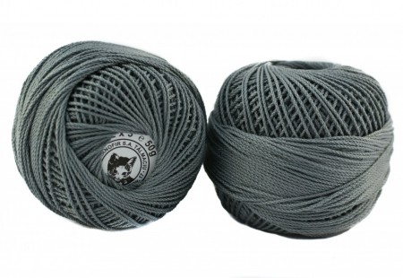 Poze Fir de tricotat sau crosetat - Fire Bumbac 100% ANGELICA ROMANOFIR BOBINA GRI 1284