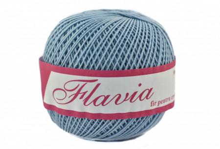 Poze Fir de tricotat sau crosetat - Fire Bumbac 100% FLAVIA ROMANOFIR BOBINA BLEO 1231