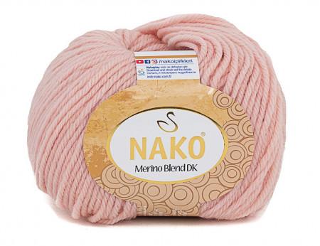 Poze Fir de tricotat sau crosetat - Fire din lana 100% Nako Merino Blend DK - ROZ COD 5408