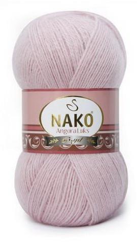 Poze Fir de tricotat sau crosetat - Fire tip mohair acril NAKO ANGORA LUKS ROZ 10639