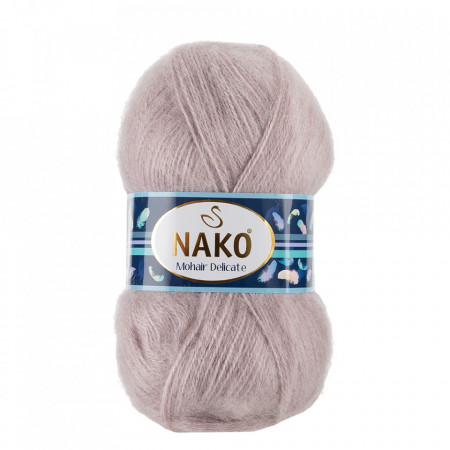 Poze Fir de tricotat sau crosetat - Fire tip mohair acril NAKO MOHAIR DELICATE - BEJ COD 11503