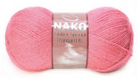 Poze Fir de tricotat sau crosetat - Fire tip mohair acril NAKO MOHER SPECIAL ROMANTIK ROZ 11306