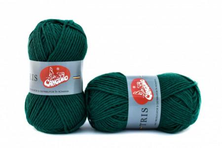 Poze Fir de tricotat sau crosetat - Fire tip mohair din acril CANGURO - TRIS VERDE 327