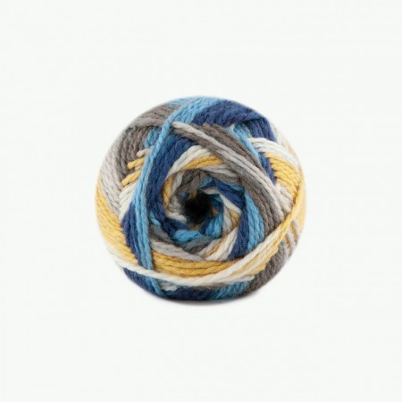 Poze Fir de tricotat sau crosetat - Fire tip mohair din acril Kamgarn Papatya Joyful degrade 15