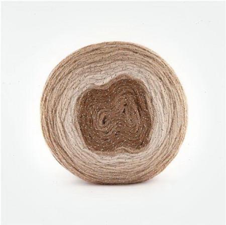 Poze Fir de tricotat sau crosetat - Fire tip mohair din acril Kamgarn Papatya CAKE SILVER degrade 302