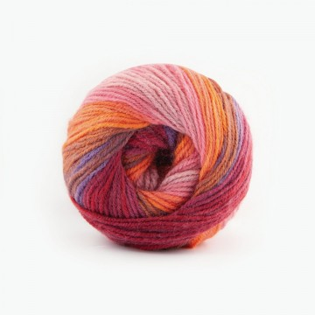 Poze Fir de tricotat sau crosetat - Fire tip mohair din acril Kamgarn Papatya Batik degrade 26