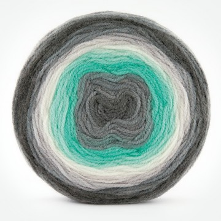 Poze Fir de tricotat sau crosetat - Fire tip mohair din acril Kamgarn Papatya CAKE degrade 217