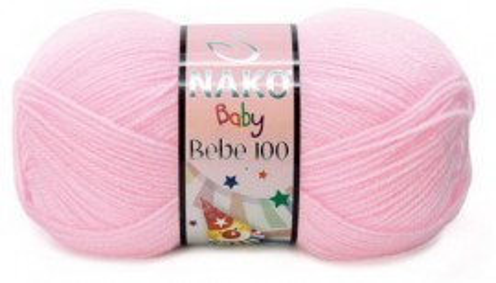 Poze Fir de tricotat sau crosetat - Fire tip mohair din acril Nako Baby Bebe 100 ROZ  2197