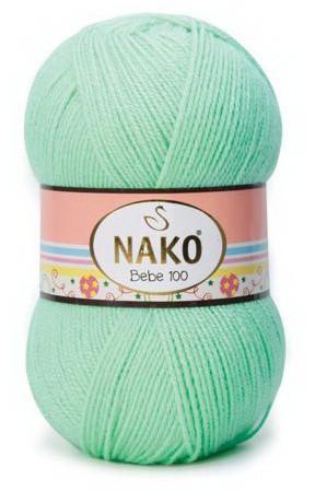 Poze Fir de tricotat sau crosetat - Fire tip mohair din acril Nako Baby Bebe 100 VERNIL 11627
