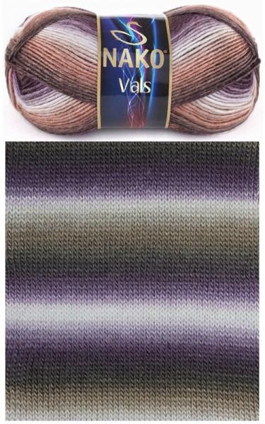 Poze Fir de tricotat sau crosetat - Fire tip mohair din acril premium Nako VALS DEGRADE 85792
